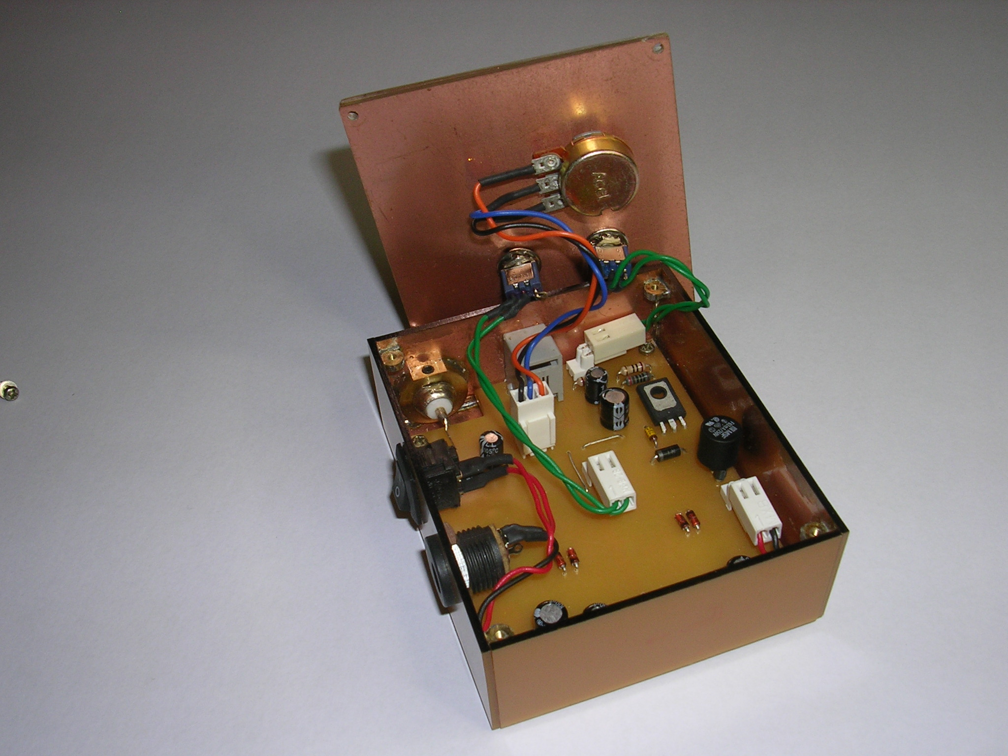 Two Tone Generator Vk5fe Schematic Internal View